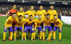 El Barça vestirá totalmente de amarillo
