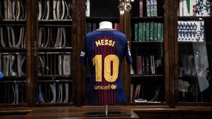 Camisetas de Leo Messi salen a subasta