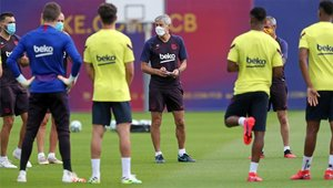 El coronavirus también dejó secuelas en el primer equipo del Barça