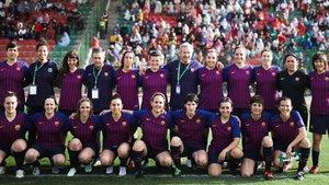 El equipo de la ABJ Femenino que ha jugado este sábado en El Aaiún (Marruecos)