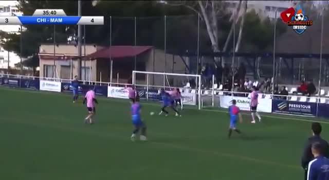 El equipo de El Chiringuito remonta y acaba venciendo al Mambo F.C
