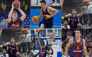 El futuro del Barça Lassa está en las manos de jugadores que esperan dar un paso al frente para hacerse un hueco en el primer equipo