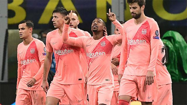 Al gran partido del Barça solo le faltó la victoria