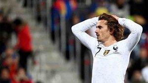 Griezmann, en el partido ante Andorra
