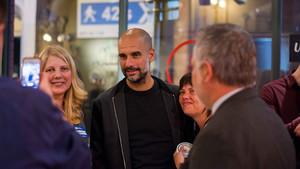 Guardiola y el Girona, juntos en Manchester para promocionar la Costa Brava