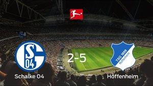 El Hoffenheim se lleva la victoria en casa tras golear 2-5 al Schalke 04