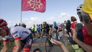 Imagen de archivo del Tour de Francia