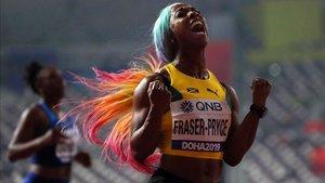 La jamaicana exhibió su poderío