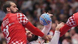 Jorge Maqueda sufrió en sus carnes la dureza croata