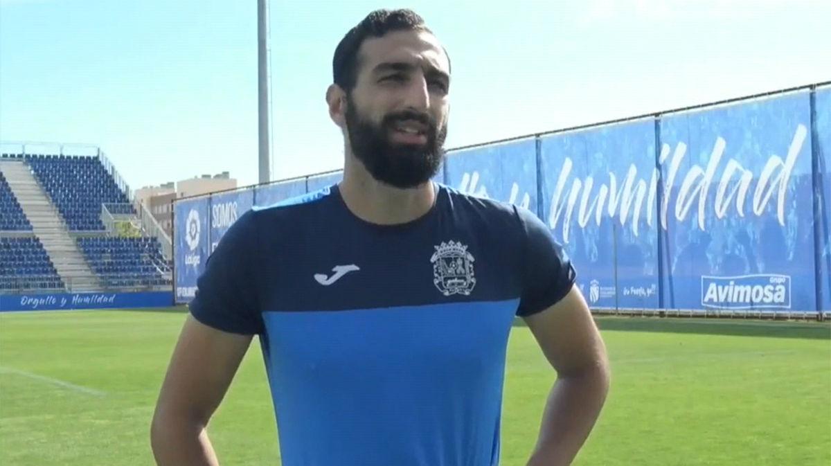 José Rodríguez (Fuenlabrada): Espero que nos permitan intentar entrar en playoff