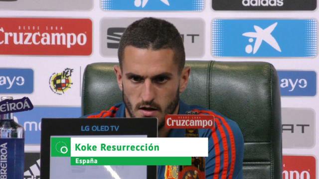 Koke: Sería una alegría si Griezmann se queda