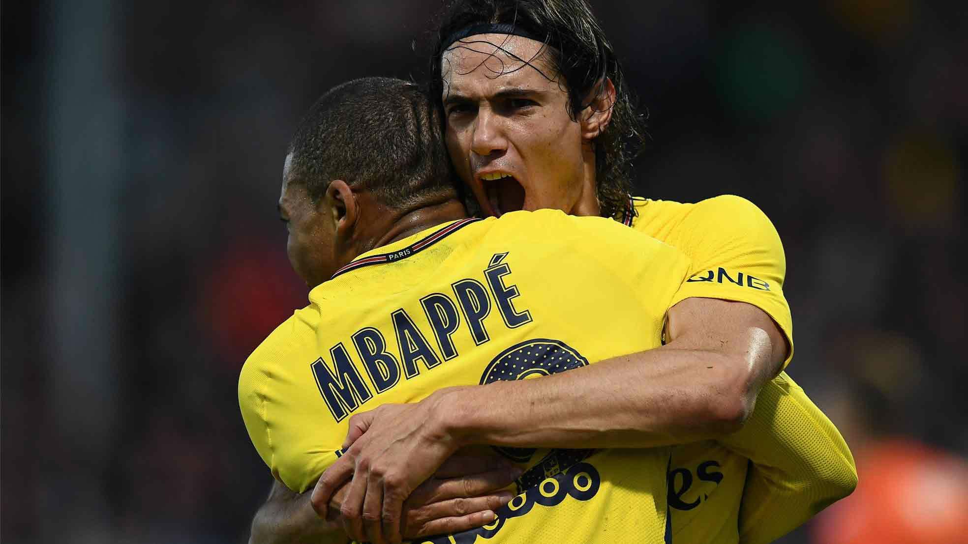 Angers 0-5 PSG: 100 up for Cavani as Emery's men win ...
