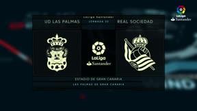 LALIGA | Las Palmas - Real Sociedad (0-1)