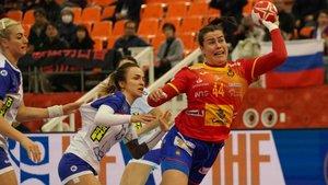 Las jugadoras españolas se han estrellado ante Rusia