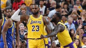 LeBron quiere llevar a los Lakers al título, aunque no sea el primer año