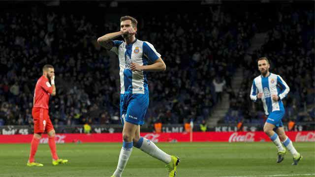 Leo Baptistao puso el primer gol para el Espanyol