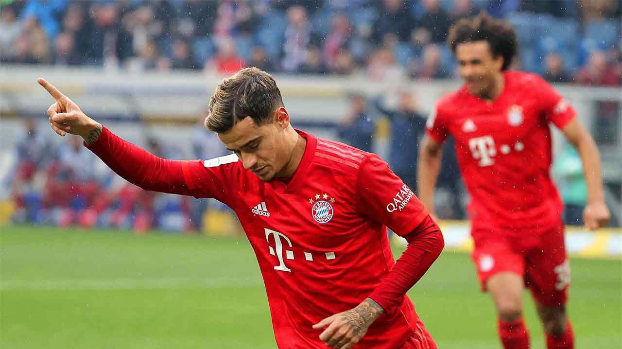 Los mejores goles de Coutinho con el Bayern