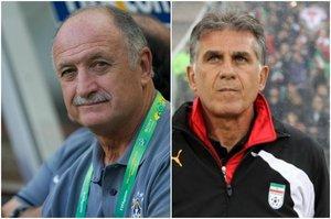 Luis Felipe Scolari y Carlos Queiroz están en la mira de la Federación Colombiana