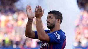 Luis Suárez alcanzará este sábado su partido 200 oficial como azulgrana