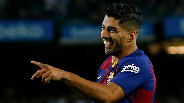 Luis Suárez puso la manita con el quinto