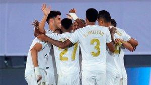 El Madrid no falló ante el Alavés