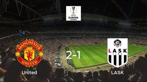 El Manchester United elimina al LASK en octavos de final tras ganar 2-1