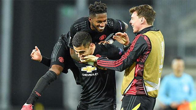 El Manchester United se pasea en Austria