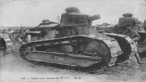 La marca Renault diseñó el primer carro blindado moderno