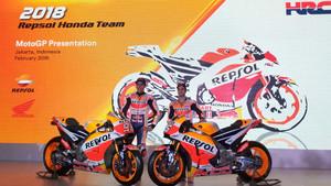 Márquez y Pedrosa, con la nueva Honda