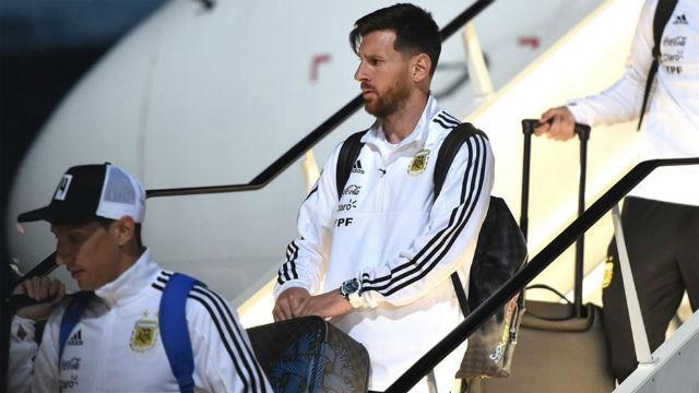 Messi y Argentina ya están en Rusia