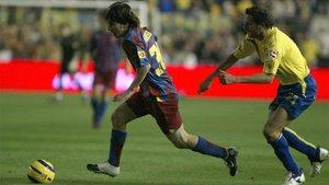 Messi jugó el 17 de diciembre de 2005 en el Ramón de Carranza