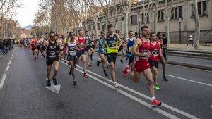 La Mitja Marató de Barcelona batió todos sus registros