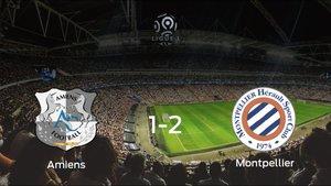 El Montpellier HSC se queda con los tres puntos después de derrotar 1-2 al Amiens SC