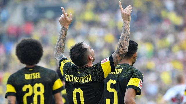 Paco Alcácer sigue con la racha goleadora en el Borussia