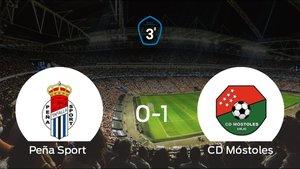 La Peña Sport se queda a las puertas de la semifinal de los playoff tras perder 0-1
