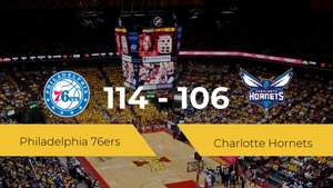 Philadelphia 76ers vence a Charlotte Hornets (114-106)