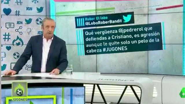 No se podía saber: así fue la defensa de Pedrerol a Cristiano Ronaldo tras su expulsión