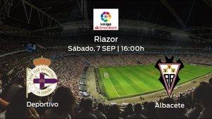 Previa del encuentro: el Deportivo recibe al Albacete en la cuarta jornada