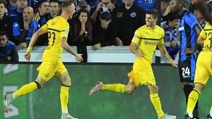 Pulisic marcó el gol del triunfo del Dortmund