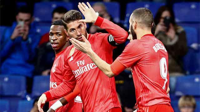 Ramos sigue con su racha goleadora ante el Espanyol