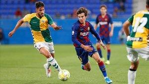 Riqui Puig se ha convertido en un fijo de las alineaciones del FC Barcelona B