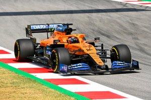 Sainz, en el Circuit de Barcelona