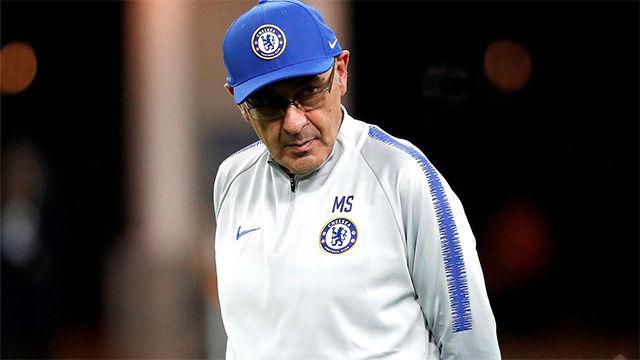 Sarri: Hazard es un problema durante la semana