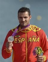Saúl Craviotto logró la medalla de plata