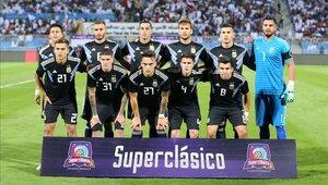 La selección de Argentina venció a Irak por 4-0