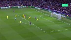 Suárez abrió la lata ante el Dortmund de la mano de Messi