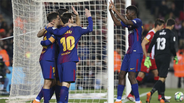 Barcelona beat Tottenham 4-2 in Champions League game at Wembley
