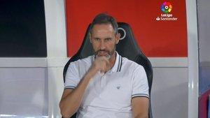 Vicente Moreno aún sigue en el banquillo del Mallorca