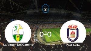 La Virgen Del Caminoy el Real Ávilase reparten los puntos en el Estadio Municipal Los Dominicos (0-0)