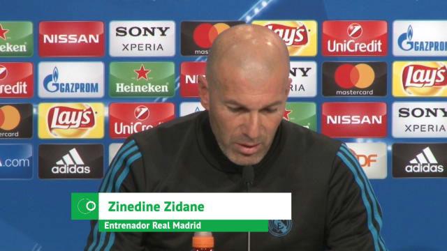 Zidane: No hemos estado tan finos como el Barcelona